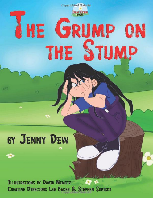 childrens book the-grump-on-the-stump